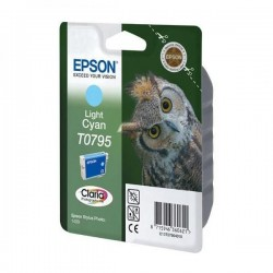 Epson originál ink C13T079540, light cyan, 11,1ml, Epson Stylus Photo 1400 C13T07954010