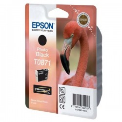 Epson originál ink C13T08714010, photo black, 11,4ml, Epson Stylus Photo R1900