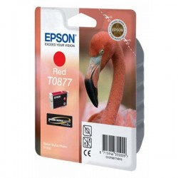 Epson originál ink C13T08774010, red, 11,4ml, Epson Stylus Photo R1900