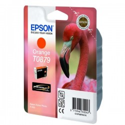 Epson originál ink C13T08794010, orange, 11,4ml, Epson Stylus Photo R1900
