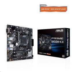 ASUS PRIME B450M-K II soc.AM4 B450 DDR4 mATX M.2 HDMI DVI D-Sub...