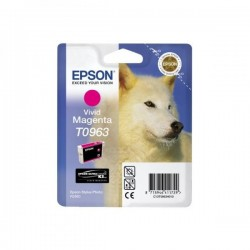 Epson originál ink C13T09634010, magenta, 13ml, Epson Stylus Photo R2880