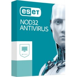BOX ESET NOD32 Antivirus pre 4PC / 1rok  NOD32-AV-4PC-1Y-BOX-2021