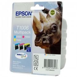 Epson originál ink C13T10064010, cyan/magenta/yellow, 3x11,1ml, Epson Stylus Office B40W, BX310FN, 600FW, SX510W, B1100