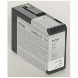 Epson originál ink C13T580700, light black, 80ml, Epson Stylus Pro 3800