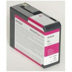Epson originál ink C13T580300, magenta, 80ml, Epson Stylus Pro 3800