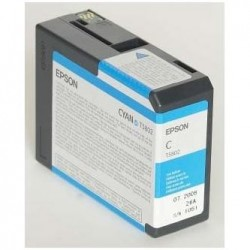 Epson originál ink C13T580200, cyan, 80ml, Epson Stylus Pro 3800