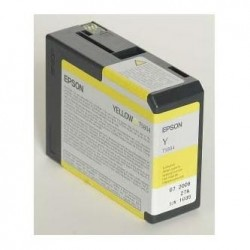 Epson originál ink C13T580400, yellow, 80ml, Epson Stylus Pro 3800