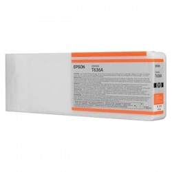 Epson originál ink C13T636A00, orange, 700ml, Epson Stylus Pro 7900, 9900
