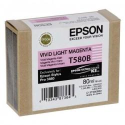 Epson originál ink C13T580B00, light vivid magenta, 80ml, Epson Stylus Pro 3800
