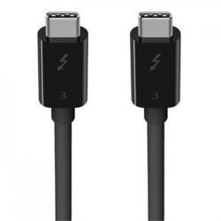 Belkin kabel ThunderBolt 3 (USB-C/USB-C konektor)  až 100W - 0,8m...