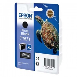 Epson originál ink C13T15714010, photo black, 25,9ml, Epson Stylus Photo R3000