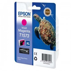 Epson originál ink C13T15734010, vivid magenta, 25,9ml, Epson Stylus Photo R3000