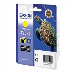 Epson originál ink C13T15744010, yellow, 25,9ml, Epson Stylus Photo R3000