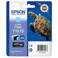 Epson originál ink C13T15754010, light cyan, 25,9ml, Epson Stylus Photo R3000