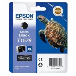 Epson originál ink C13T15784010, matte black, 25,9ml, Epson Stylus Photo R3000