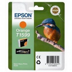 Epson originál ink C13T15994010, orange, 17ml, Epson Stylus Photo R2000