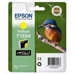 Epson originál ink C13T15944010, yellow, 17ml, Epson Stylus Photo R2000
