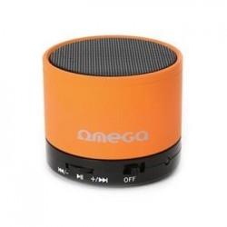 OMEGA SPEAKER OG47O ALU BLUETOOTH V3.0 ORANGE [42645]