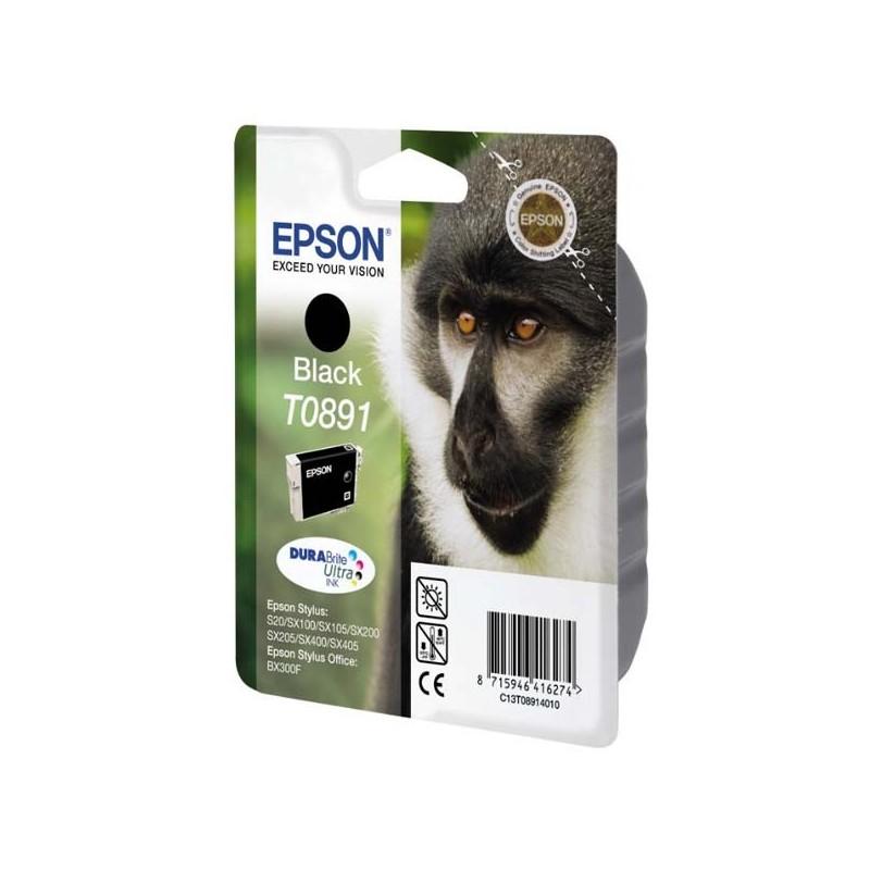 Epson originál ink C13T08914011, black, 5,8ml, Epson Stylus S20, SX100, SX200, SX400