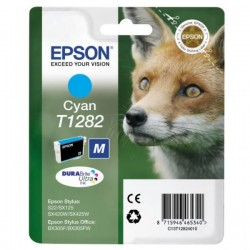Epson originál ink C13T12824011, T1282, cyan, 3,5ml, Epson Stylus S22, SX125, 420W, 425W, Stylus Office BX305