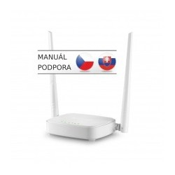 Tenda N301 - Wireless-N Router 802.11b/g/n, 300Mbps, 1x WAN, 3x...