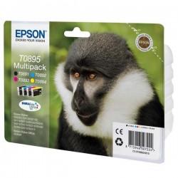 Epson originál ink C13T08954020, CMYK, 3x3,5/5,8ml, Epson Stylus S20, SX100, SX200, SX400