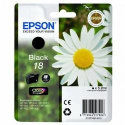 Epson originál ink C13T18014010, T180140, black, 5,2ml, Epson Expression Home XP-102, XP-402, XP-405, XP-302