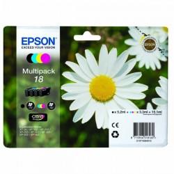 Epson originál ink C13T18064010, T180640, CMYK, 3x3,3/5,2ml, Epson Expression Home XP-102, XP-402, XP-405, XP-302