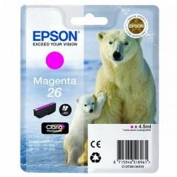 Epson originál ink C13T26134010, T261340, magenta, 4,5ml, Epson Expression Premium XP-800, XP-700, XP-600