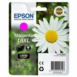 Epson originál ink C13T18134020, T181340, 18XL, magenta, 6,6ml, Epson Expression Home XP-102, XP-402, XP-405, XP-302