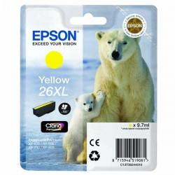 Epson originál ink C13T26344020, T263440, 26XL, yellow, 9,7ml, Epson Expression Premium XP-800, XP-700, XP-600