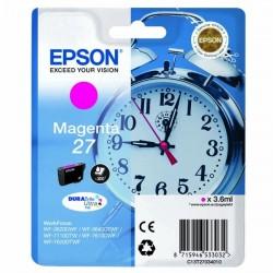 Epson originál ink C13T27034010, 27, magenta, 3,6ml, Epson WF-3620, 3640, 7110, 7610, 7620