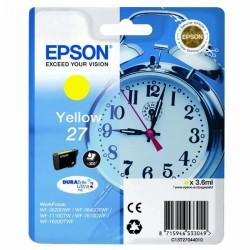 Epson originál ink C13T27044010, 27, yellow, 3,6ml, Epson WF-3620, 3640, 7110, 7610, 7620