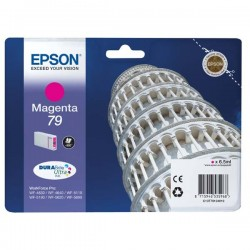 Epson originál ink C13T79134010, 79, L, magenta, 800str., 7ml, 1ks, Epson WorkForce Pro WF-5620DWF, WF-5110DW, WF-5690DWF
