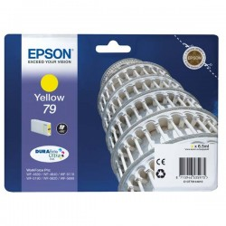 Epson originál ink C13T79144010, 79, L, yellow, 800str., 7ml, 1ks, Epson WorkForce Pro WF-5620DWF, WF-5110DW, WF-5690DWF
