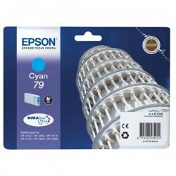 Epson originál ink C13T79124010, 79, L, cyan, 800str., 7ml, 1ks, Epson WorkForce Pro WF-5620DWF, WF-5110DW, WF-5690DWF