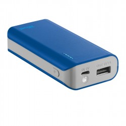 TRUST Primo PowerBank 4400 Portable Charger - blue 21225