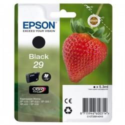 Epson originál ink C13T29814010, T29, black, 5,3ml, Epson Expression Home XP-235,XP-332,XP-335,XP-432,XP-435