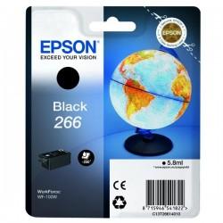 Epson originál ink C13T26614010, 266, black, 5,8ml, Epson WF-100W