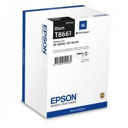 Epson originál ink C13T865140, T8651, XXL, black, 10000str., 221ml, 1ks, Epson WorkForce Pro WF-M5690DWF