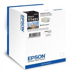 Epson originál ink C13T866140, T8661, XL, black, 2500str., 55,8ml,...