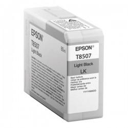 Epson originál ink C13T850700, light black, 80ml, Epson SureColor SC-P800
