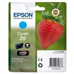 Epson originál ink C13T29824010, T29, cyan, 3,2ml, Epson Expression Home XP-235,XP-332,XP-335,XP-432,XP-435