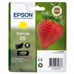 Epson originál ink C13T29844010, T29, yellow, 3,2ml, Epson Expression Home XP-235,XP-332,XP-335,XP-432,XP-435