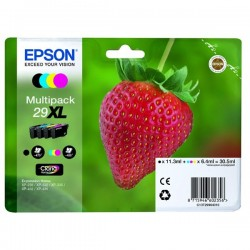Epson originál ink C13T29964010, T29XL, CMYK, 11,3/3x6,4ml, Epson Expression Home XP-235,XP-332,XP-335,XP-432,XP-435