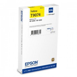 Epson originál ink C13T907440, T9074, XXL, yellow, 69ml, Epson WorkForce Pro WF-6090DW