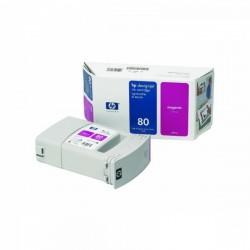 HP originál ink C4847A, No.80, magenta, 350ml, HP DesignJet 1050, C, 1055, C, CM
