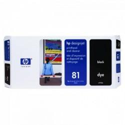 HP originál tlačová hlava C4950A, No.81, black, HP DesignJet 5000, PS, UV, 5500, PS, UV