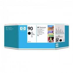 HP originál ink C5058A, No.90, black, 400ml, HP DesignJet 4000, 4000ps, 4500